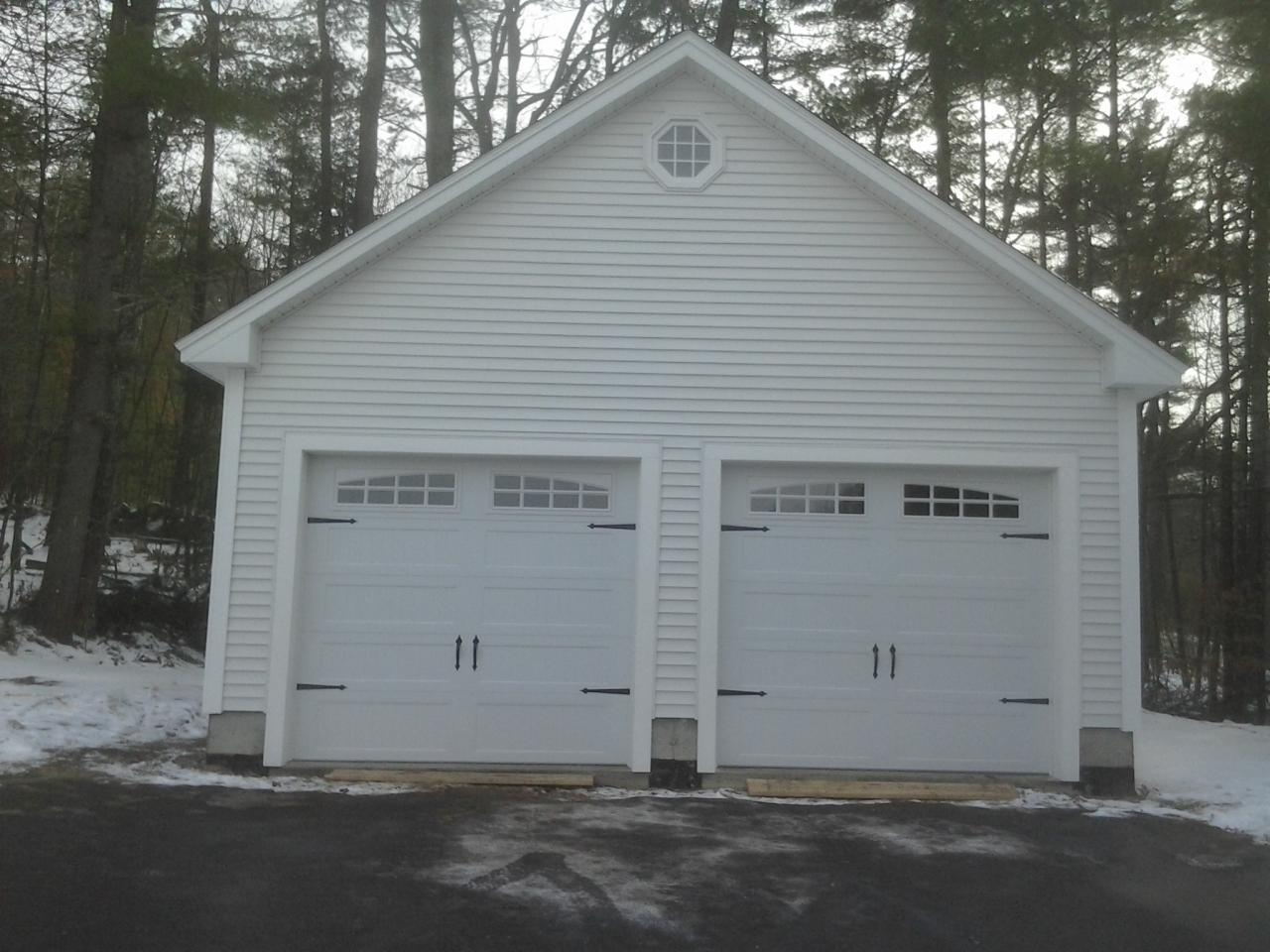Jws custom decks garages603 494 3299 for Material list for garage