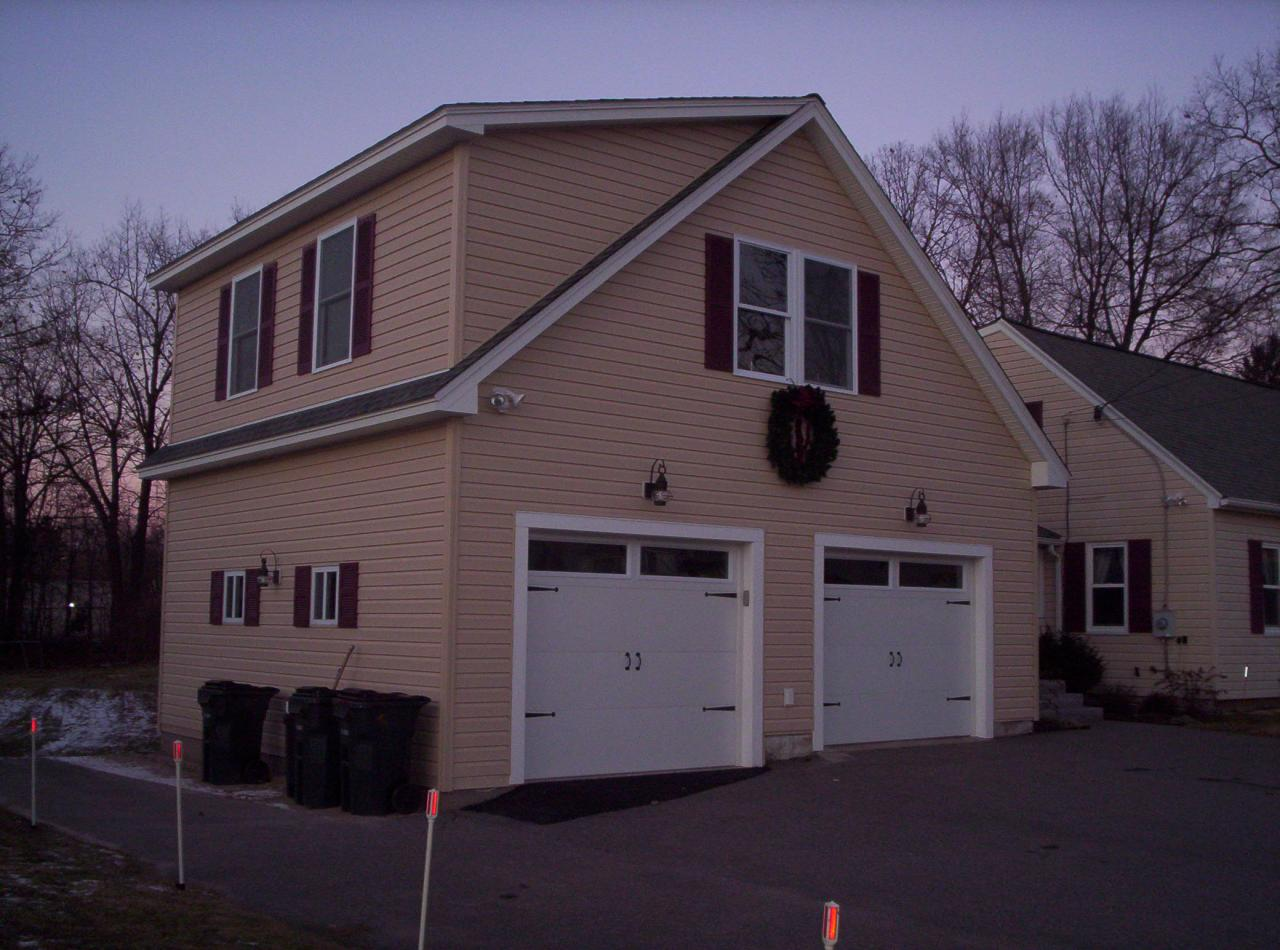 Jws custom decks garages603 494 3299 for How much to add a garage with bonus room